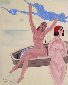 Sacha Zaliouk (1887 – 1971).  [Pinned 18-x-2015]