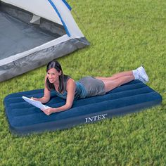 Adventure Goods H1000131 - Single #AirBed #Holiday #camping #vacation #leisure