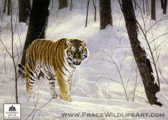 Charles Frace wildlife art.