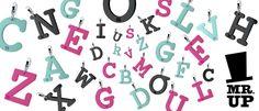 Divertiti a comporre il tuo nome con le lettere di Mr. Up! #MrUp #MashUP