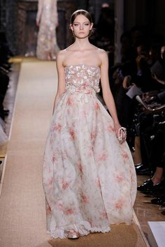 Love love love Valentino's Spring 2012 collection. if I were to get married again, this would be a top pick...so romantic.