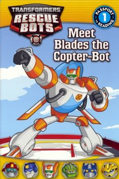 Meet Blades The Copter-Bot (Turtleback School & Library Binding Edition) (Transformers Rescue Bots) @ niftywarehouse.com #NiftyWarehouse #Movies #Transformers