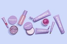 florence by mills is a clean beauty brand that is made for all skin types. We believe that natural ingredients make for the best skincare and makeup products. Brown Makeup, Purple Makeup, Millie Bobby Brown, Lip Care, Face Care, Makeup Brands, Best Makeup Products, Beauty Products, Vaseline