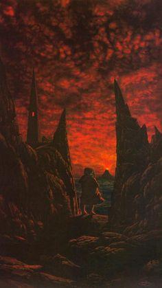 Ted Nasmith. Mordor.