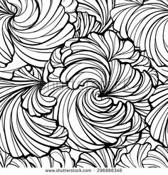 Purchase Throw Blanket Flannel Floral Abstract Graphic Black White Flowers Geometric Vintage Beauty Blob Inch from Ann Pekin Pekin on OpenSky. Black And White Flowers, Black And White Abstract, Black White, Abstract Flowers, Vintage Beauty, Floral Prints, Tropical Prints, Flower Patterns, Design Art