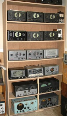 Some of my Hallicrafters radios