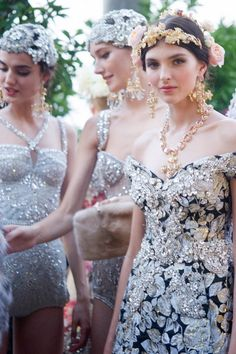 An Italianate Midsummer Night's Dream, brought to life in Dolce & Gabbana's own domain.See the photos on Vogue.com
