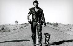 Australian cattle dog with Mad Max  in the movie
