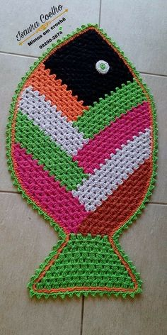 Crochet Leaf Patterns, Hand Embroidery Patterns Flowers, Crochet Leaves, Crochet Circles, Granny Square Crochet Pattern, Crochet Designs, Crochet Fish, Crochet Toys, Crochet Shell Stitch