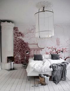 40 Best Bedroom Interior Design You Will Love to Makeover Your Home! Awesome Design Ideas for Your Bedroom. Try this beautifulgreat design ideas. Dream Bedroom, Home Bedroom, Bedroom Rustic, Master Bedrooms, Bedroom Wall, Bedroom Corner, Bedroom Ideas, Bedroom Designs, Night Bedroom