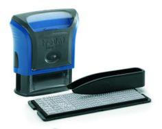 DIY rubber stamp Kit Personalised, Self Inking Business Address Garage Name Etc | eBay