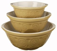 Devoid Of Culture And Indifferent To The Arts: Object of Necessity 3: Traditional Mixing Bowls