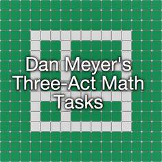 Dan Meyer's Three-Act Math Tasks