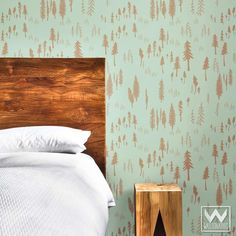Timberland Bonnie Christine Removable Wallpaper from Wallternatives