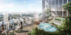 Duo Residences -  Sky Deck & Jacuzzi