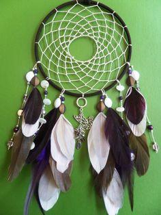 $52.00 #Dove #Freedom #Pink #Brown  #Dream Catcher Modern, Boho