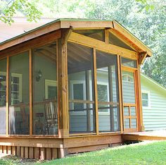 small screen porch | ... , additions, outdoor structures, small business design, repairs