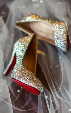 Christian Louboutin 'So Kate' Crystal Pumps