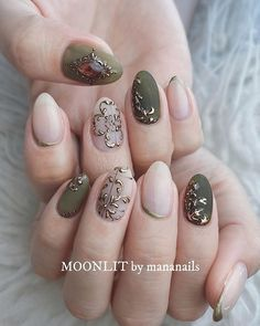 Nail Art Trend Dominating Spring 2020 – Page 4 Classy Nails, Stylish Nails, Cute Nails, Classy Nail Designs, Nail Art Designs, Gel Nail Art, Gel Nails, Stiletto Nails, Japan Nail Art