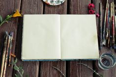 This HD wallpaper is about Photograph of Blank Sketchbook and Paint Brushes, art, art materials, Original wallpaper dimensions is file size is Le Scribe, Shell Drawing, Finding Motivation, Hobby Lobby Christmas, Architecture Sketchbook, Art Asiatique, Mary Oliver, Key To Happiness, Photoshop
