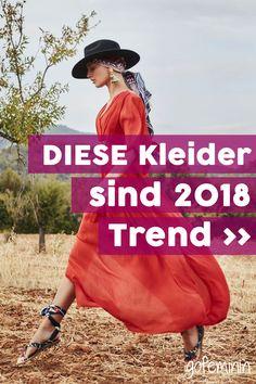 Kleider-Trends 2018: 5 Styles, die du nicht verpassen darfst!