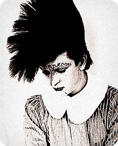 My Idol Steve Strange, one of the New Romantics and the face of Visage, one of the best things to happen to Music in the 80s, in my book !!!