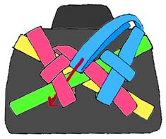 how to fold hakama