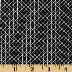 Cotton & Steel Netorious Black Cat from @fabricdotcom  Designed by Alexia Abegg for Cotton + Steel, this cotton print is perfect for quilting, apparel and home decor accents.  Colors include black and white.