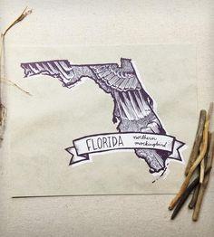 Florida Northern Mockingbird Print | Art Prints | Kelzuki | Scoutmob Shoppe | Product Detail