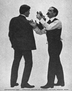 Vintage Jiu-Jitsu Lessons From Theodore Roosevelt's Personal Instructor Krav Maga, Japanese Jiu Jitsu, Indian Martial Arts, Jiu Jitsu Moves, Self Defense Tips, Ju Jitsu, Kickboxing Workout, Workout Fitness, Art Of Manliness