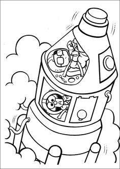 Muppets Fargelegging. Tegninger 57