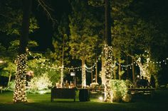 Beautiful brightly lit outdoor lounge at this wedding  Read More: http://www.stylemepretty.com/little-black-book-blog/2014/04/04/whimsical-elegant-tea-party-wedding/