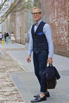 Taste of Savannah: SCAD STYLE 2013…on the street Richard Lambertson director of design, Tiffany & Co