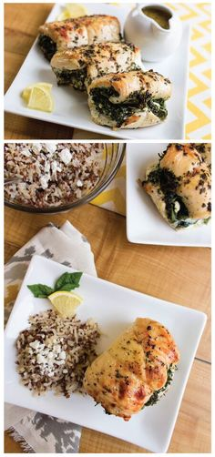 Feta Stuffed Chicken-  At only 208 calories per chicken breast, this recipe will surely be a keeper.