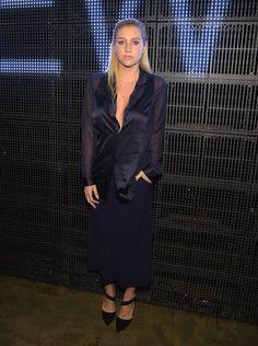Pin for Later: Les Stars Sont au premier Rang Pour la Fashion Week de New York Kesha Au défilé DKNY.