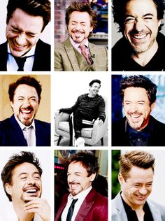 Robert Downey Jr.'s laugh.