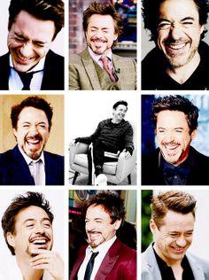 Robert Downey Jr.'s laugh.
