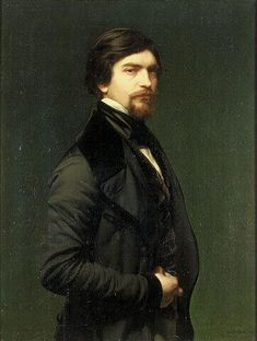 Self Portrait by Armand Cambon (1819-1885)