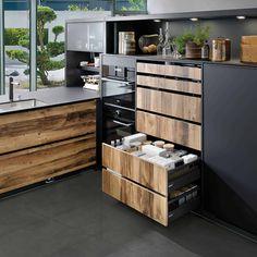 Supermat kjøkken med trefronter | Få inspirasjon til det nye kjøkken Schmidt, Kitchen, House, Dreams, Natural, Home Decor, Houses, Arches, Kitchens