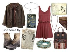 """""""killing time"""" by monica9842 ❤ liked on Polyvore featuring Barbour, Frye, H&M, Accessorize, Isabel Marant, Moleskine, Topshop and NAKAMOL"""