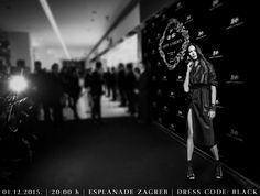 HIPPY GARDEN EVENT  Great expectations of upcoming HIPPY GARDEN exclusive fashion show 01.12.2015. | 20:00 h | Esplanade Zagreb Dress code | black #hippygarden