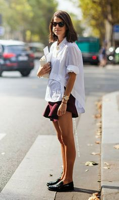 16 Ideas Fashion Street Paris Leandra Medine For 2019 Style Work, Mode Style, Her Style, Edgy Style, Look Fashion, Daily Fashion, Womens Fashion, Fashion Trends, Fashion Weeks