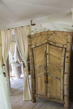 Stefano Scatà Food Lifestyle and Interiors photographer - Sandat Glamping Tents Camp in Ubud,Bali Cabana Decor, Bali Furniture, Ubud, Beach Shack, Luxury Camping, Amazing Spaces, Tropical Houses, Rustic Interiors, Inspired Homes