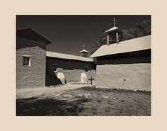 Santa Cruz and St. Mary's Churches, Ojo Caliente, New Mexico; New Mexico; Adobe Churches of New Mexico; Adobe Churches in New Mexico; Adobe Churches; New Mexico; New Mexico Adobe Churches; John A. Benigno; John Benigno