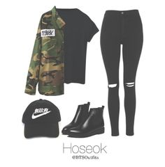 bts jhope inspired fashion woman