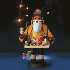 German Smokers by KWO - Christmas Collectibles - Gifts & Holidays Christmas In Germany, After Christmas, Christmas Holidays, Christmas Decorations, German Christmas Pyramid, German Nutcrackers, German Folk, Portal, Santas Workshop