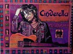 Ray Stephenson is a Grammy Award winning, Platinum selling singer/songwriter and painter from Nashville, TN. Cinderella Band, Purple Guitar, No Shoes Nation, Original Artwork, Original Paintings, Shelter Me, 80s Rock, Kenny Chesney, Willie Nelson