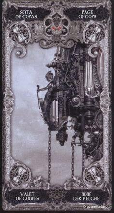 Nekro Xiii Tarot, Dark Deck, The Shadow Side, Rune Symbols, Baroque Design, Free Tarot, Photo Composition, Pentacle, Dark Fantasy Art