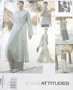 Vogue dated 1994 Vogue Patterns, Sewing Patterns, Retro Vintage, Vintage Sewing, Sell Items, Vintage Patterns, Im Not Perfect, I Shop, Etsy
