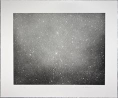 VIJA CELMINS Night Sky 2002 color photogravure, aquatint, drypoint paper: 19 x 23 inches x cm) framed: 22 x 26 inches x 67 cm) edition of 65 signed and dated by the artist, recto © 2002 Vija Celmins and Gemini G. Friedrich Nietzsche, Vija Celmins, Artist Workshop, Sky Images, National Gallery Of Art, Art Gallery, Global Art, Art Object, Art Market